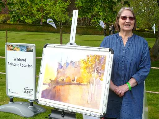 Sky Arts Landscape Artist Of The Year 2015 By Sue Smith